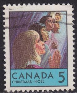 Canada 502 USED 1969 Children Praying