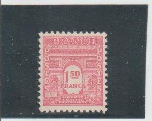 France  Scott#  476D  MH  (1944 Arc de Triomphe)