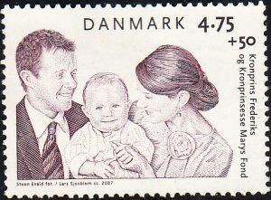 Denmark #B92      Used