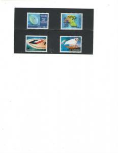 KUWAIT :Sc. 1573-76 /***MARTYR'S BUREAU ***/ Complete Set / MNH.
