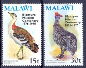 Malawi Sc# 293-294 MNH 1976 Overprint