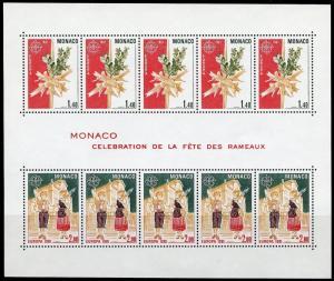 MONACO 1981  EUROPA  MINIATURE  SHEET  SCOTT#1279a MINT NH