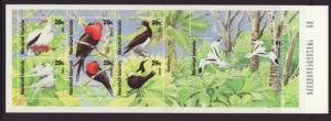 Marshall Islands 406a Birds Booklet MNH VF