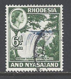 Rhodesia & Nyasaland Sc # 164 used (RS)