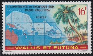 Wallis and Futuna 158 MNH (1962)