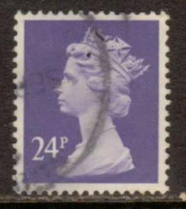 Great Britain  #MH124  used (1984) c.v. $1.75