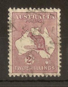 Australia 1929 2/- Roo SG110 Fine Used