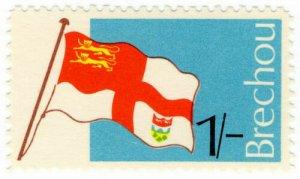 (I.B) Guernsey Cinderella : Brechou Island 1/-