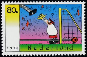 Netherlands 995 MNH World Cup Soccer Championships