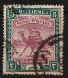Sudan 1902/1921 Camel Post 3M (1/11) USED
