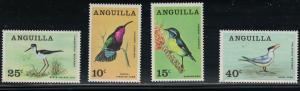 Anguilla SC36-39 AnguillanBirds MNH 1968