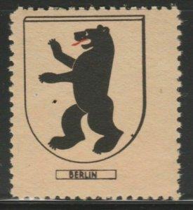 Berlin Cinderella Poster Stamp Reklamemarken A7P4F802