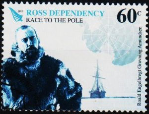 Ross Dependency. 2011 60c Fine Used
