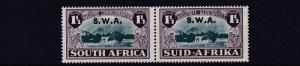 SOUTH WEST AFRICA  1939   S G 113  1 1/2D + 1 1/2D HUGUENOTS    MH