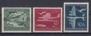 GERMANY Reich 1944 Mi# 866-868 MNH