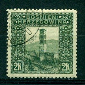 Bosnia & Herzegovina 1906 #44 U SCV(2020)=$13.00