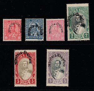 Albania a small mint lot from 1928
