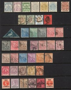 COGH, Bechuanaland, Transvaal Old Time Group 41 Stamps Mint-Used CV$350