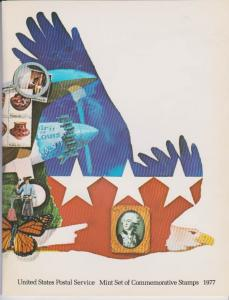 USA -1977 SOUVENIR MINT SET-MINI ALBUM LOT#US265