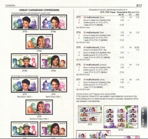 SPECIALIZED CATALOGUE FOR CANADA & AREA STAMPS (700+ PDF pgs, 2018 edition)