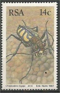 SOUTH AFRICA, 1986, MNH 14c, Beetles Scott 678