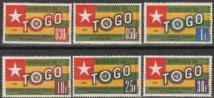 Togo #386-91 MNH F-VF (V4499)