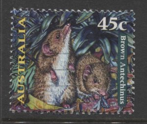STAMP STATION PERTH Australia #1620 Nocturnal Animals Definitive Used