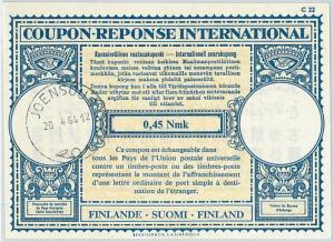 61043 - COUPON RESPONSE INTERNATIONAL London Model: FINLAND 1964