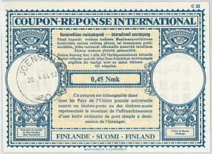 61043 - COUPON RESPONSE INTERNATIONAL London Model: FINLAND 1964