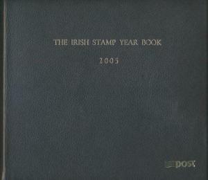 IRELAND 2005 IRISH STAMP YEAR BOOK SPECIAL LEATHERBOUND