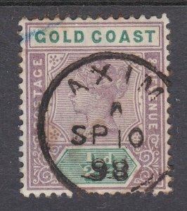 GOLD COAST 1898 QV ½d - superb AXIM cds.....................................N488