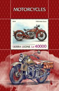 Z08 SRL18812b SIERRA LEONE 2018 Motorcycles MNH ** Postfrisch