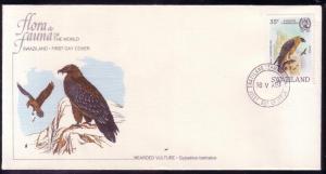 Swaziland FDC SC# 427 Bearded Vulture L343