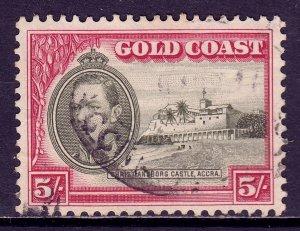 Gold Coast - Scott #126 - Used - Crease, toning spot at top - SCV $22