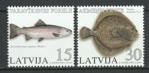 Latvia 2004 Fauna Fish 2 MNH stamps