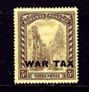 Bahamas MR9 1918 Overprint