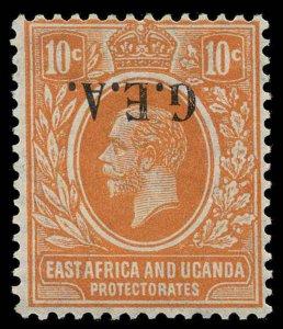 Tanganyika Scott 9 Variety Gibbons 73 Variety Mint Stamp