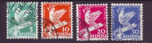 J8682 JL stamp 1932 switzerland used #210-3 $2.35v
