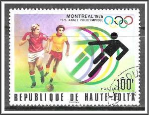 Upper Volta #389 Montreal Olympics CTO