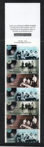 Aland Sc 360d 2014 1960's musical groups stamp booklet mint NH