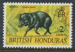 British Honduras SG 277c SC # 236 MLH  Warree - with watermark 1972  see scans