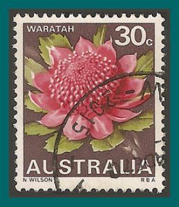 Australia 1968 Waratah Flower, used  439,SG425