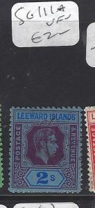LEEWARD ISLANDS (P1710B) KGVI  2/-  SG 111A      VFU