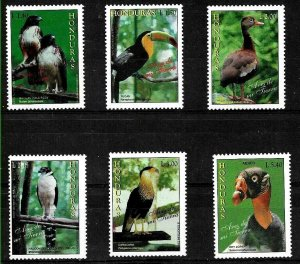 HONDURAS 1997 FAUNA BIRDS YV 291-5AE893 MNH