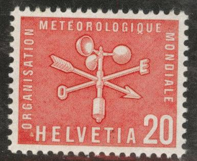 Switzerland Scott 8o3 MNH** Meteorological stamp