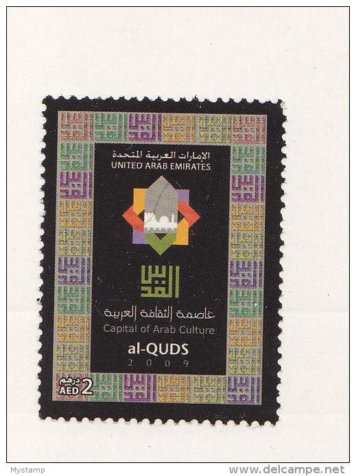 UNITED ARAB  EMIRATES 2009 ALQUDS ARAB CULTURE CAPITAL MNH JOINT ARAB POSTAL