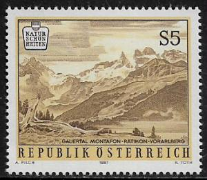 Austria #1352 MNH CV$0.65