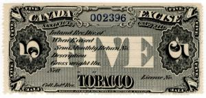 (I.B) Canada Revenue : Tobacco Duty 5lb