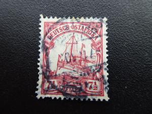 German Offices in East Afrika  1905  Sc# 33  CV 1.60          (B#6)