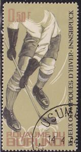 Burundi 68 IX Winter Olympic Games, Innsbruck 1964